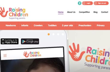 Raising Children / Redesign 2015