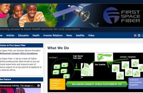 First Space Fiber - Senegal