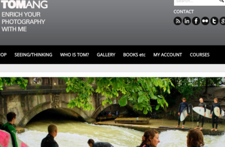 Tom Ang website - photography